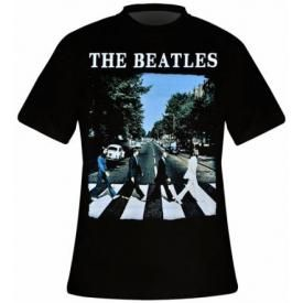 T-Shirt Mec THE BEATLES - Abbey Road Cover