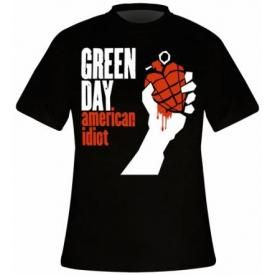 T-Shirt Mec GREEN DAY - American Idiot Cover