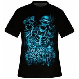 T-Shirt Mec AVENGED SEVENFOLD - Chained Skeleton