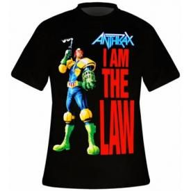 T-Shirt Mec ANTHRAX - Judge Dredd