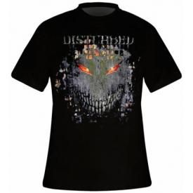 T-Shirt Mec DISTURBED - Fire Behind