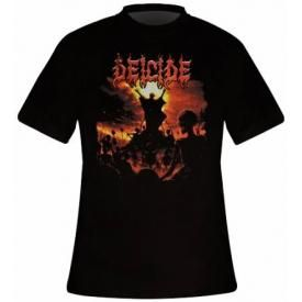 T-Shirt Mec DEICIDE - To Hell With God