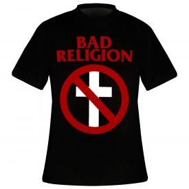 T-Shirt Mec BAD RELIGION - Crossbuster