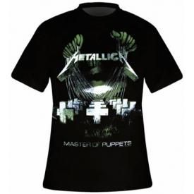 T-Shirt Mec METALLICA - Master Of Puppets Distressed