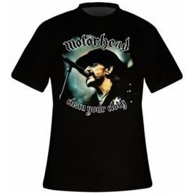 T-Shirt Mec MOTORHEAD - Clean Your Clock