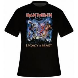 T-Shirt Mec IRON MAIDEN - Legacy Of The Beast