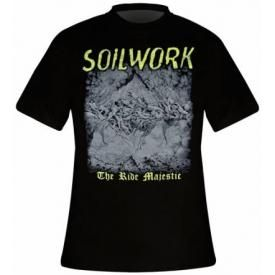 T-Shirt Mec SOILWORK - The Ride Majestic