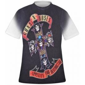 T-Shirt Mec GUNS N ROSES - Appetite Sublimation