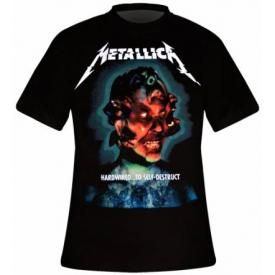 T-Shirt Mec METALLICA - Hardwired To Self Destruct