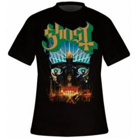 T-Shirt Mec GHOST - Meliora Cover