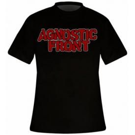 T-Shirt Mec AGNOSTIC FRONT - Never Walk Alone