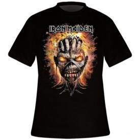 T-Shirt Mec IRON MAIDEN - Eddie Exploding Head