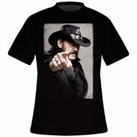 T-Shirt Mec LEMMY - Pointing