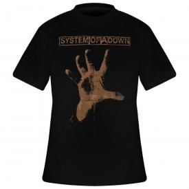 T-Shirt Mec SYSTEM OF A DOWN - Hand