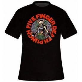 T-Shirt Mec FIVE FINGER DEATH PUNCH - Seal Of Ameth