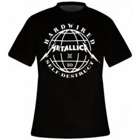 T-Shirt Mec METALLICA - Hardwired Domination