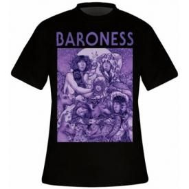 T-Shirt Mec BARONESS - Purple Cover