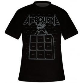T-Shirt Mec AIRBOURNE - Amp