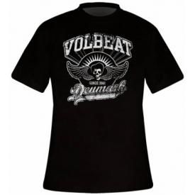 T-Shirt Mec VOLBEAT - Rise From Denmark