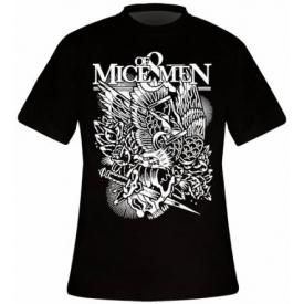 T-Shirt Mec OF MICE & MEN - Eagle