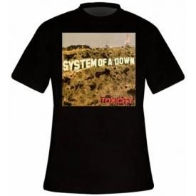 T-Shirt Mec SYSTEM OF A DOWN - Toxicity