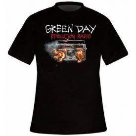 T-Shirt Mec GREEN DAY - Revolution Radio