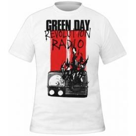 T-Shirt Mec GREEN DAY - Radio Combustion