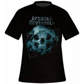T-Shirt Mec AVENGED SEVENFOLD - Galaxy