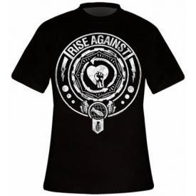 T-Shirt Mec RISE AGAINST - Bombs Away