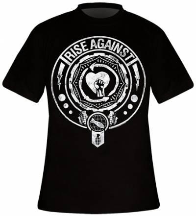 Image de T-Shirt Mec RISE AGAINST - Bombs Away