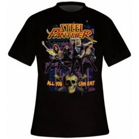 T-Shirt Homme STEEL PANTHER - All You Can Eat