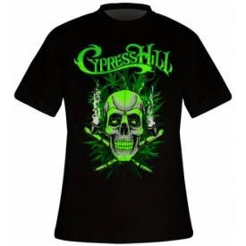 T-Shirt Mec CYPRESS HILL - Skull And Pipes
