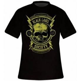 T-Shirt Homme BLACK LABEL SOCIETY - Skull