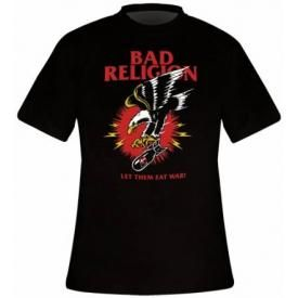 T-Shirt Homme BAD RELIGION - Bomber Eagle