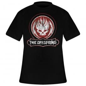 T-Shirt Homme THE OFFSPRING - Distressed Skull