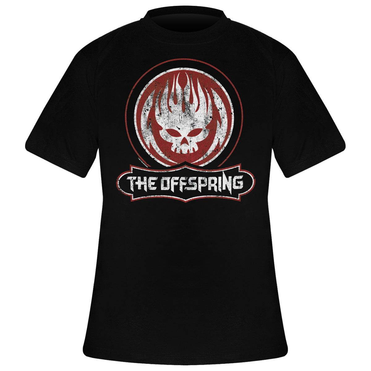The Skull T Offspring Gogo Homme Shirt A Rock Distressed HI9ED2
