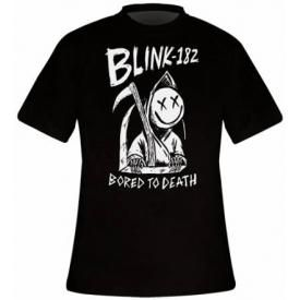 T-Shirt Homme BLINK 182 - Bored To Death
