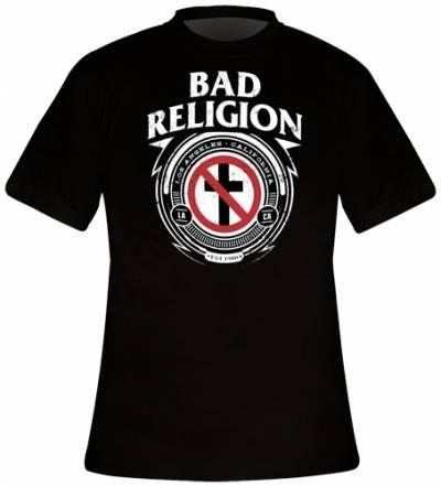 Image de T-Shirt Homme BAD RELIGION - Badge