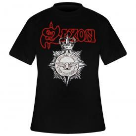 T-Shirt Homme SAXON - Strong Arm Of The Law