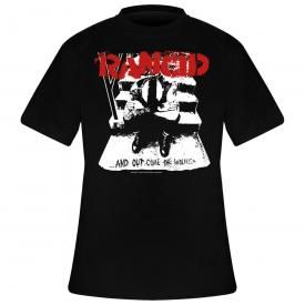 T-Shirt Homme RANCID - And Out Come The Wolves