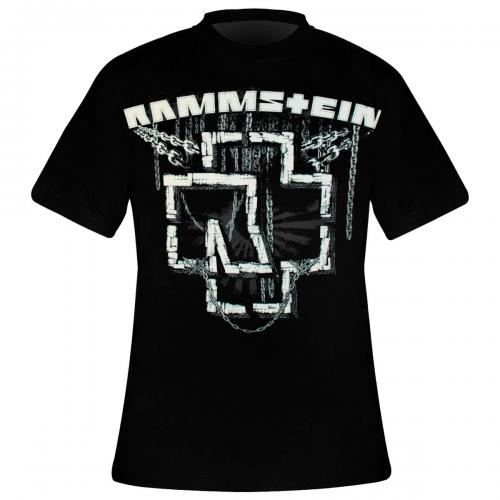 t shirt homme rammstein in ketten rock a gogo. Black Bedroom Furniture Sets. Home Design Ideas