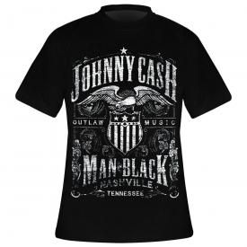 T-Shirt Homme JOHNNY CASH - Label