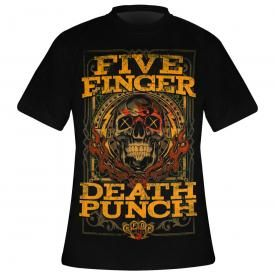 T-Shirt Homme FIVE FINGER DEATH PUNCH - Wanted