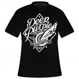 T-Shirt Homme DEEP PURPLE - Highway Star