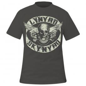 T-Shirt Homme LYNYRD SKYNYRD - Biker Skull