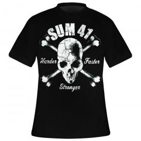 T-Shirt Homme SUM 41 - Harder Faster