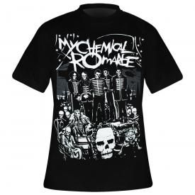 guitar M tete de mort XL taille S Heavy Metal Skull Rocker L T-Shirt Guitare