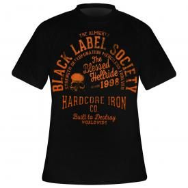 T-Shirt Homme BLACK LABEL SOCIETY - Hardcore Hellride