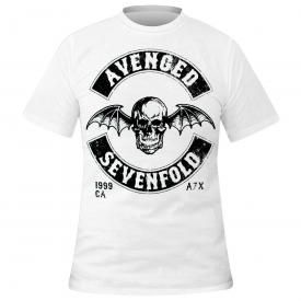 T-Shirt Homme AVENGED SEVENFOLD - Motorcycle