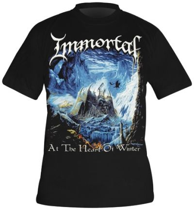 Image de T-Shirt IMMORTAL - Heart Of Winter